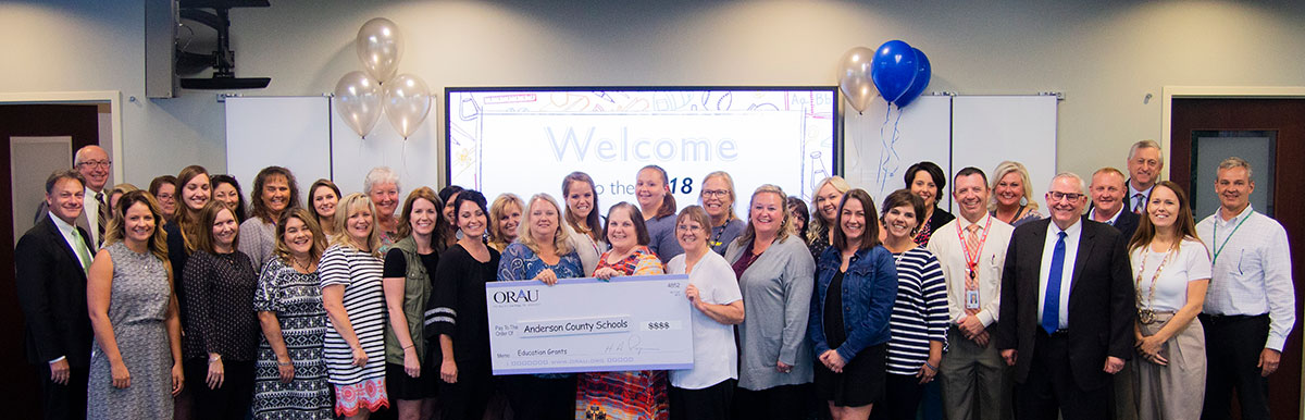 ORAU awards $20,000 in education grants to local teachers