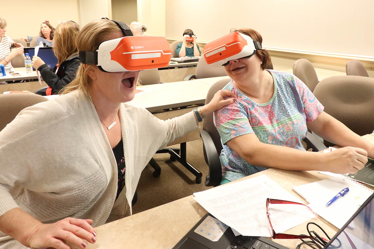 Using Virtual Reality in the Classroom